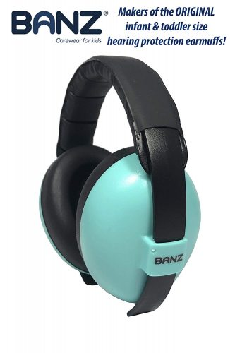 Baby Banz Earmuffs: Infant and Toddler Hearing Protection Headphones - Noise Canceling Headphones for Kids
