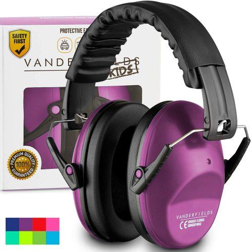 Vanderfields Earmuffs for Kids Toddlers Children - Noise Canceling Headphones for Kids