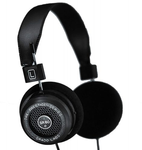 GRADO Prestige Series SR80E - Open Back Headphones for Gaming