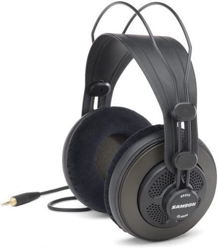 Samson Open-Back Studio Reference Headphones - Headphones for Mixing