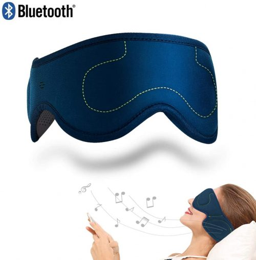 ACOTop Bluetooth Sleep Eye Mask with Wireless Headphones