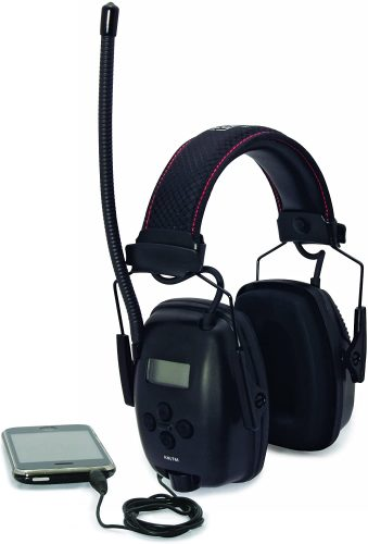Howard Leight by Honeywell Sync Digital AM/FM Radio Earmuff - Radio Headphones