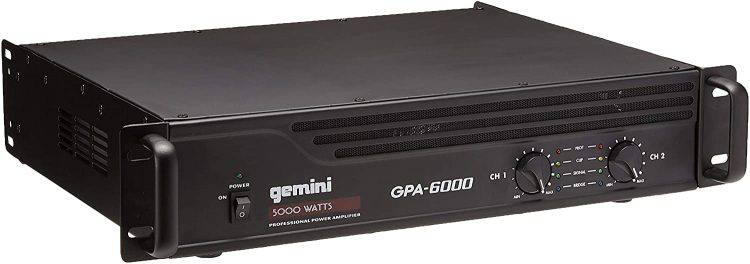 Gemini GPA-6000 - DJ Amplifiers