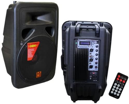 Mr. DJ PP-3400BT Bass Amplifier - professional power amplifiers