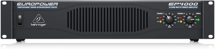 Behringer Europower EP4000 - professional power amplifiers