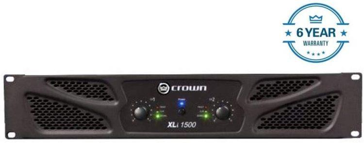 Crown Xli1500 Two-Channel Power Amplifier - professional power amplifiers