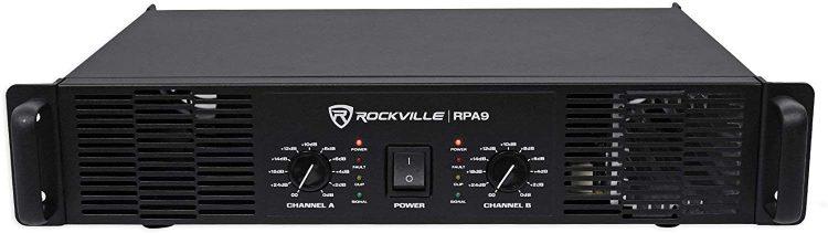 Rockville RPA9 3000 Watt Amplifier - professional power amplifiers