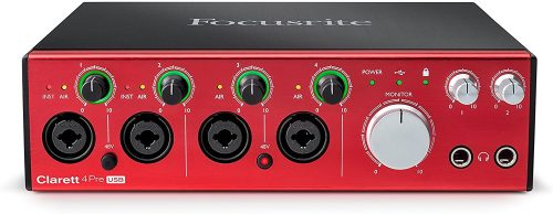FocusriteClarett 4Pre USB - USB Audio Interfaces