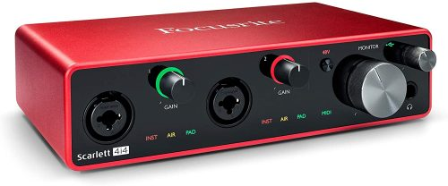 Focusrite Scarlett 4i4 3rd Gen - MIDI Interfaces