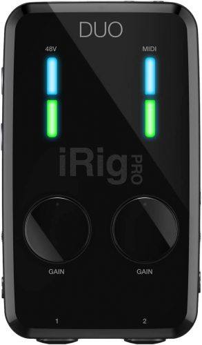 IK Multimedia iRig Pro Duo - USB Audio Interfaces