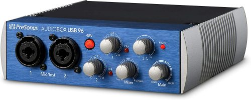 PreSonus AudioBox USB 96 2x2 USB Audio Interface - MIDI Interfaces