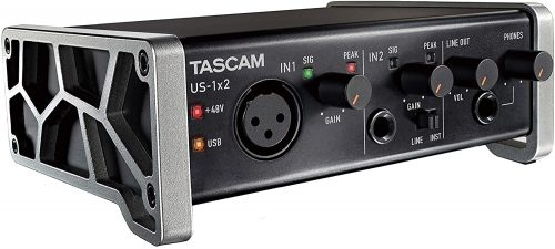 Tascam US-1X2 - Budget Audio Interfaces