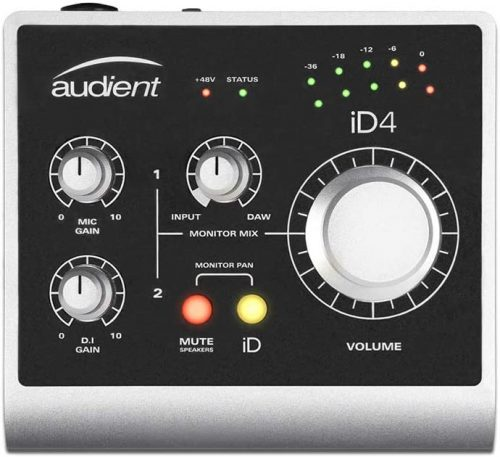 Audient iD4- Budget Audio Interfaces