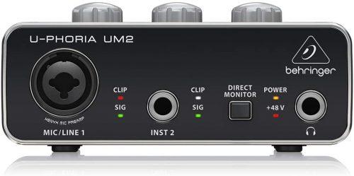 Behringer U-Phoria UM2 - Budget Audio Interfaces