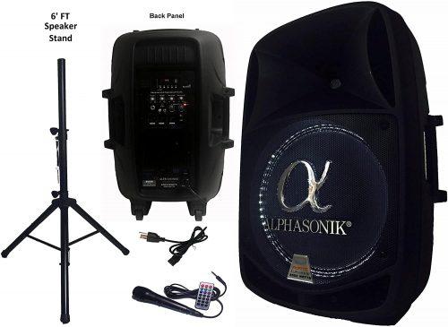 Alphasonik AKDJ155BTS - DJ Speakers