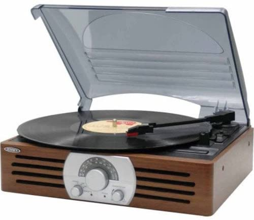 Jensen JTA-222 3- Speed Turntable - record players