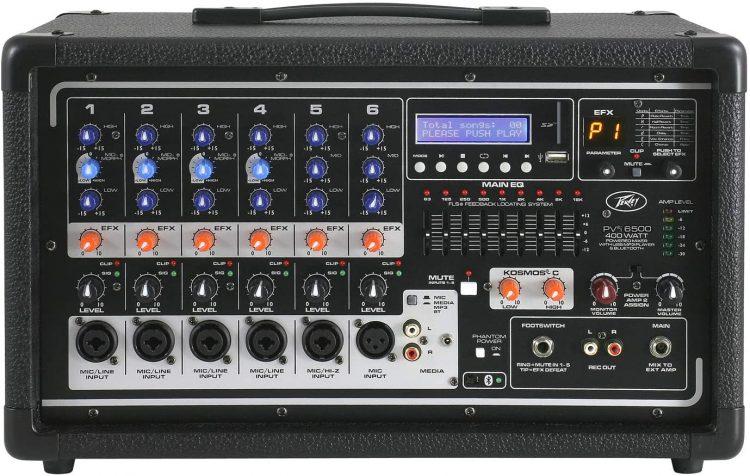 Peavey Pvi 6500 - electronic audio mixers
