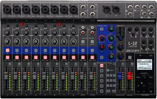 Zoom Livetrak L-12 - electronic audio mixers
