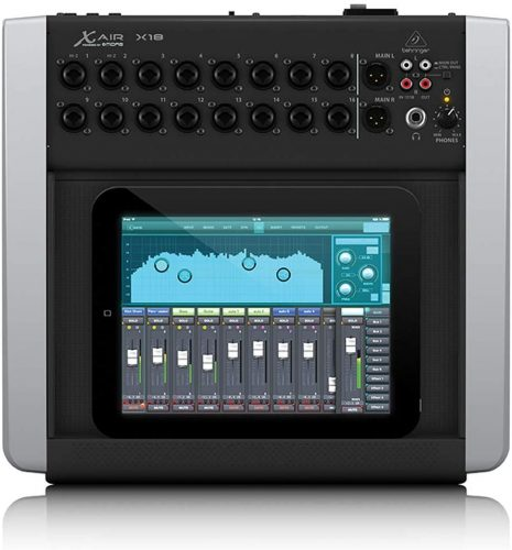 Behringer X Air X18 - electronic audio mixers