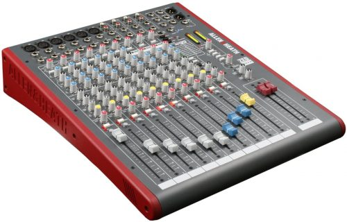 Allen and Heath Zed-12fx 12 - electronic audio mixers