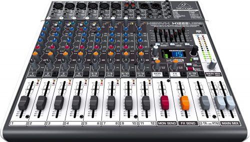 Behringer Xenyx X1222USB - electronic audio mixers