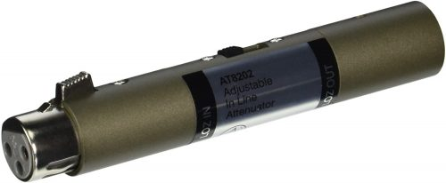 Audio-Technica AT8202 Adjustable In-line Attenuator