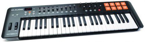 M Audio Oxygen 49 IV | 49 Key USB/MIDI Keyboard With 8 Trigger Pads
