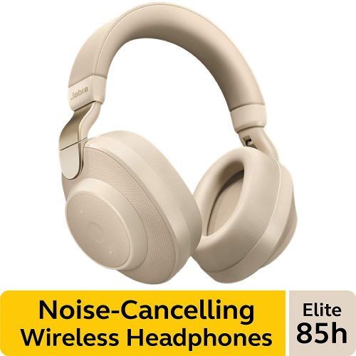Jabra Elite 85h - Noise Canceling Headphones with Mic