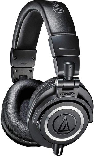 Audio-Technica ATH-M50x - closed-back headphones