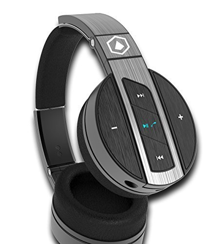 Bluetooth Headphones, HIFI ELITE Super66 ($300 Headphones Only $66) Over Ear, Bluetooth Headphones with HiFi Sound & Bass. Works wired, Wireless, and for hands-free calls - bass headphones