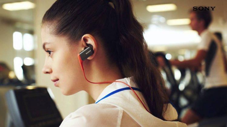 Girl Listening to Headphone