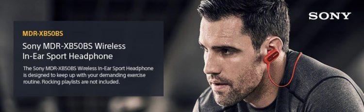 EXTRA BASS™ Sports Wireless In-ear Headphone