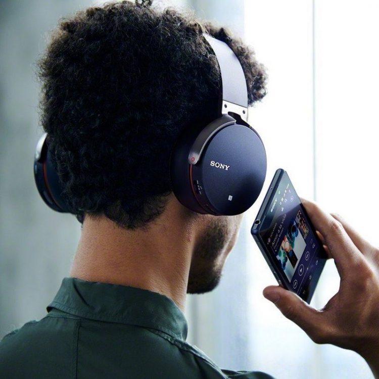 Guy Listening to Music