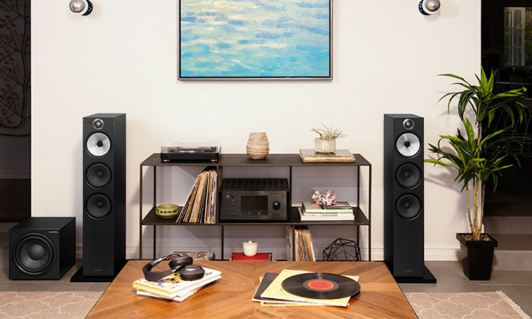 Stereo Floor Standing Speakers