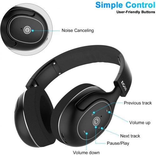DOSS Active Noise Cancelling Bluetooth Headphones