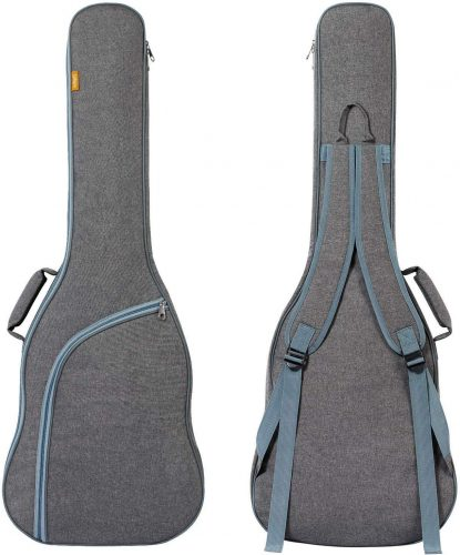 CAHAYA Electric Guitar Bag Padded Electric Guitar Gig Bag Case 0.35in Padding Dual Adjustable Shoulder Strap Electric Guitar Case | Protective Guitar Bags