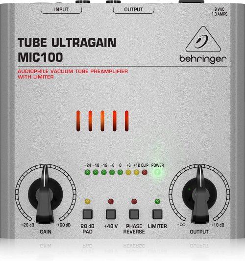 Behringer Tube Ultragain MIC100 Audiophile