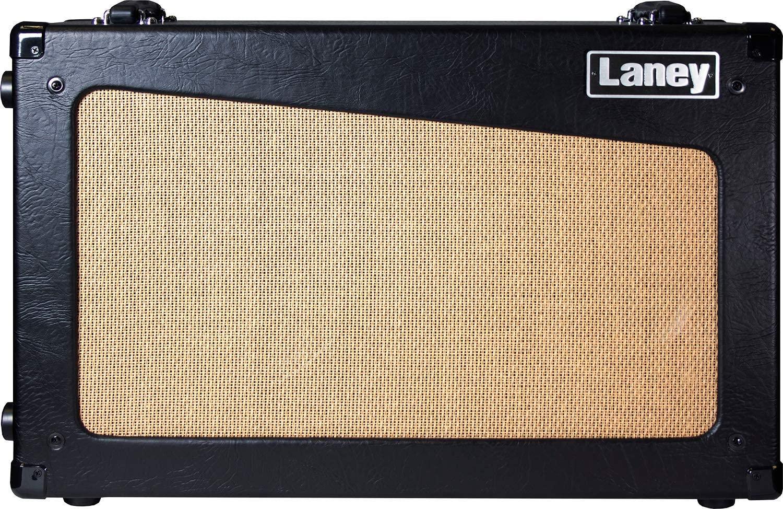 Laney Amps Guitar Amplifier Cabinet, Black/Brown (CUB-CAB) - Guitar Cabinets