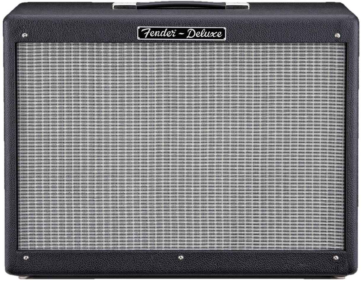 Fender Hot Rod Deluxe 112 Enclosure 80-Watt 1x12-Inch Guitar Amp Cabinet - Black - Guitar Cabinets