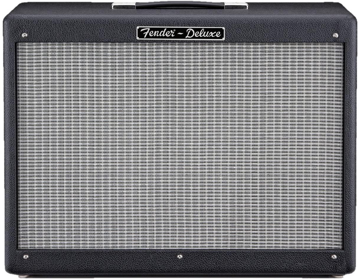 Fender Hot Rod Deluxe 112 Enclosure 80-Watt 1x12-Inch Guitar Amp Cabinet - Black - Guitar Cabinets