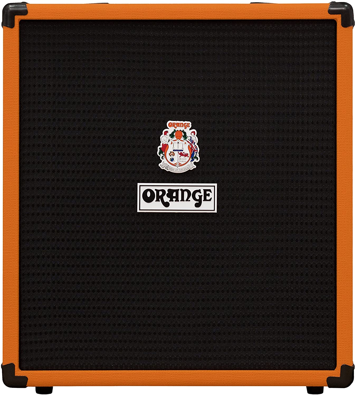 Orange Crush Bass 50W Bass Guitar Combo Amp, Orange- Bass Guitar Amplifiers