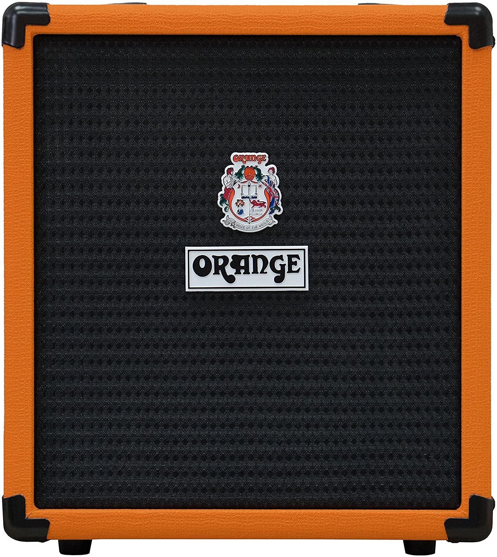 Orange Crush Bass 25W Bass Guitar Combo Amp, Orange- Bass Guitar Amplifiers