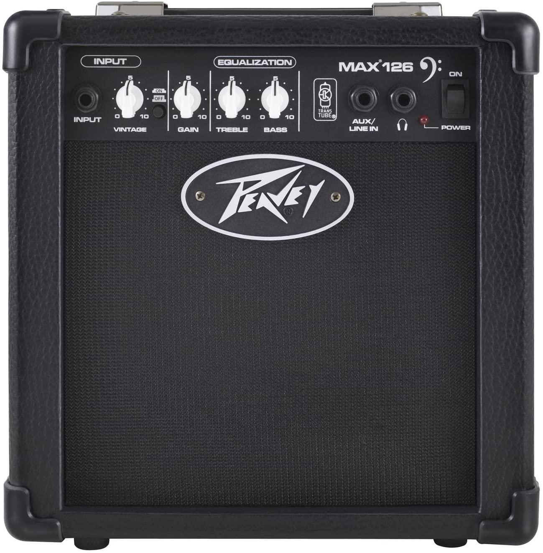 Peavey MAX 126 10-Watt Bass Amp Combo- Bass Guitar Amplifiers