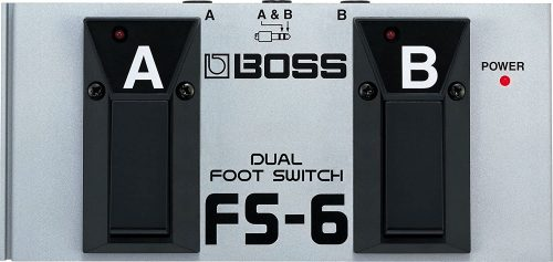 BOSS, 1/4-Inch - Electric Guitar Foot Switch