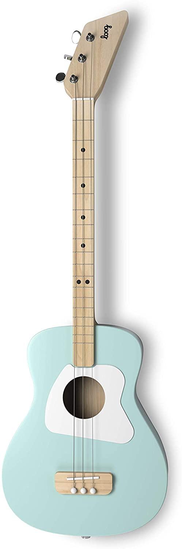 Loog Pro Acoustic Guitar, Children, Teens, Beginners - Green