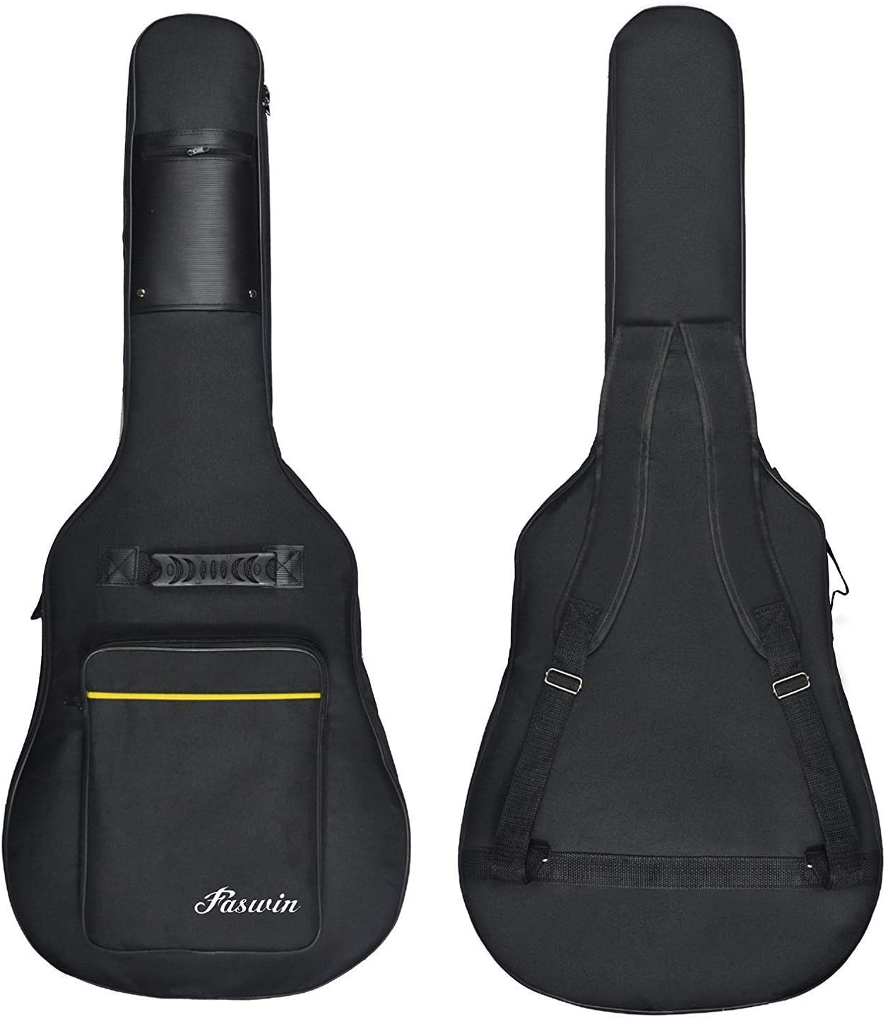 Faswin 41 Inch Guitar Bag Dual - Protective Guitar Cases