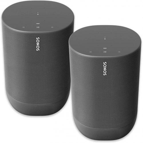 Two Room Sonos Move - Sonos Home Theatre Speakers