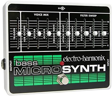 Electro-Harmonix Bass Micro Synthesizer - Bass Guitar Effects