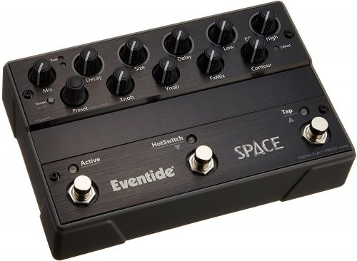 Eventide Space Reverb Pedal - Bass Guitar Effects