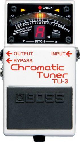 BOSS TU-3 Chromatic Tuner Stompbox (TU3) - Bass Guitar Effects